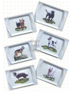 Delightful Doggie Snack Tray - 6 Different Dogs to Choose From
