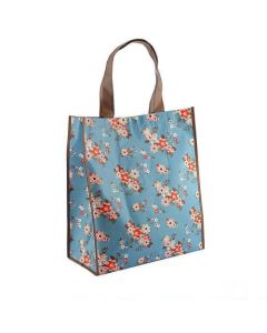 """Chic Shopper - """"Katie"""" Vintage Floral Style Shopping Bag - Foldaway, Re-Useable"""
