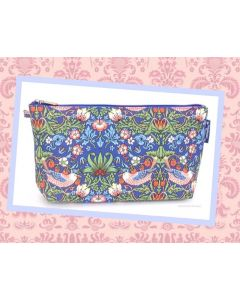 """So Chic - William Morris Make Up/Cosmetic Bag """"Strawberry Thief - Lovely Gift!"""